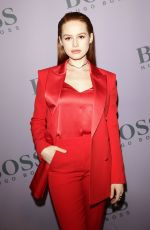 Madelaine Petsch At Boss Fashion Show in Milan