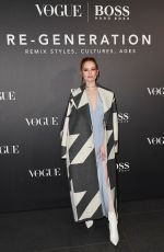 Madelaine Petsch At BOSS & VOGUE Italia Event in Milan, Italy