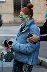 Madelaine Petsch Out about in Milan