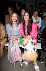 Madeleine Arthur At Anna Sui show, Front Row, Fall Winter 2020, New York Fashion Week