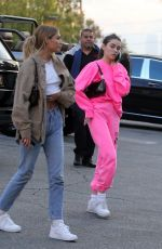Madison Beer In pink for lunch at Chin Chin in West Hollywood