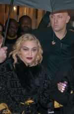 Madonna Leaving the Rex Hall after gig in Paris