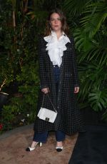 Maggie Rogers At Charles Finch and Chanel Pre-Oscars Dinner, Arrivals, Polo Lounge, in Los Angeles