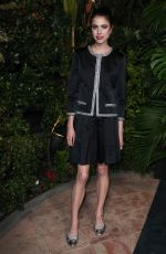 Margaret Qualley At Charles Finch and Chanel Pre-Oscar Awards Dinner in LA