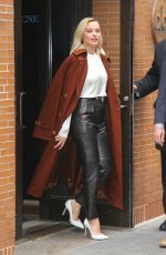 Margot Robbie Out and about in New York doing promotional work