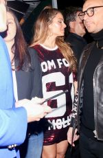 Maria Menounos Outside the William Morris Endeavor Pre Oscar party in Beverly Hills