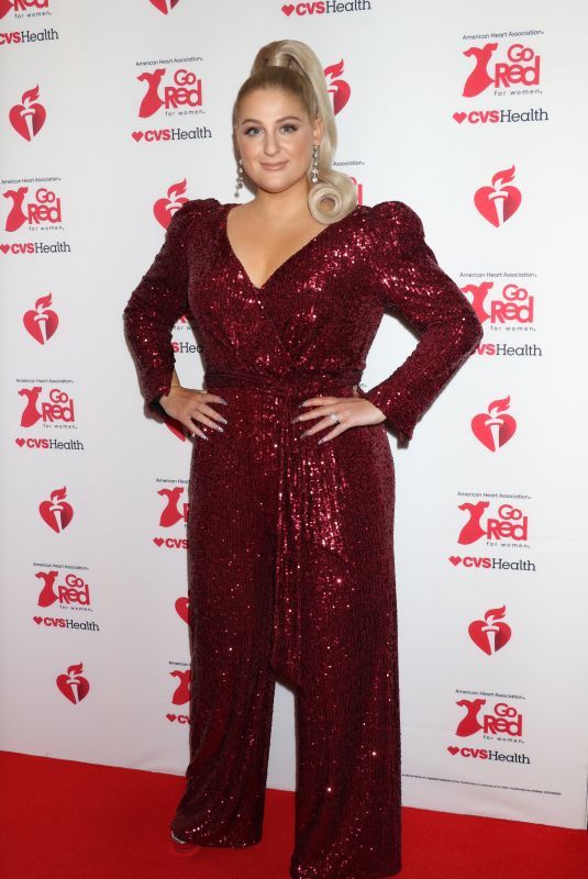 Meghan Trainor At The American Red Heart Association