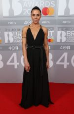 Melanie Chisholm At 40th Brit Awards, Arrivals, The O2 Arena, London