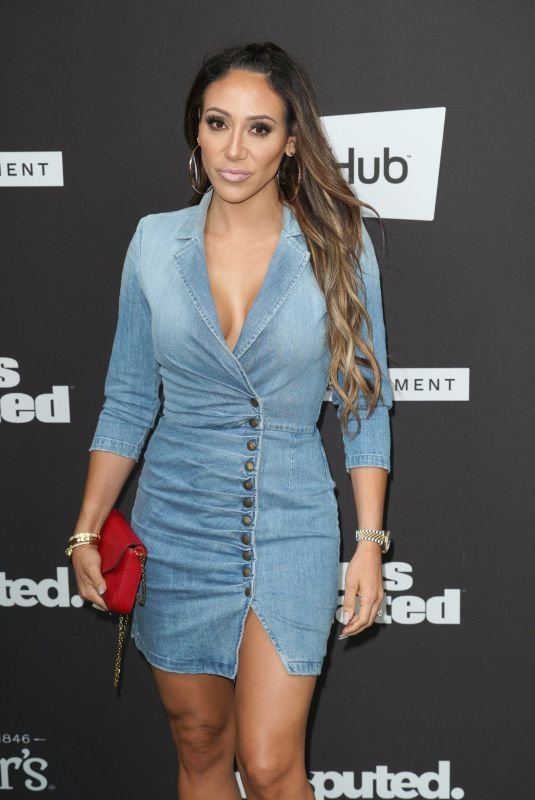 Melissa Gorga At Sports Illustrated Super Bowl LIV Party, Arrivals, The Fontainebleau, Miami