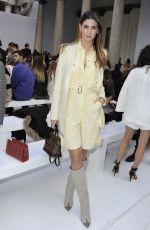 Melissa Satta At Max Mara Show at Milan Fashion Week