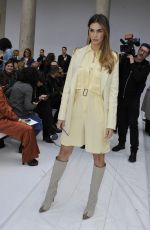 Melissa Satta At Max Mara show, Front Row, Fall Winter 2020, Milan Fashion Week, Italy