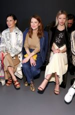 Mia Goth At Tory Burch Fall Winter 2020 Fashion Show in New York City