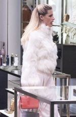 Michelle Hunziker and Tomaso Trussardi celebrated Valentine at Trussardi Restaurant in Milan