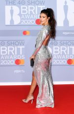Michelle Keegan At The BRIT Awards 2020 in London