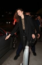 Michelle Monaghan Leaves San Vicente Bungalows after having dinner