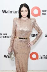Michelle Trachtenberg At Elton John AIDS Foundation Oscar Viewing Party in West Hollywood