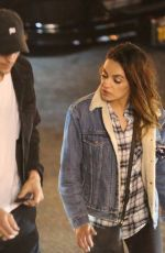 Mila Kunis Are seen leaving the Saddle Ranch in West Hollywood