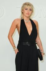 Miley Cyrus At Tom Ford AW20 Show in Hollywood