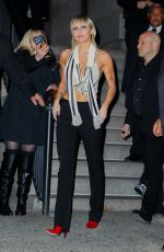 Miley Cyrus Outside the Bowery Hotel in New York