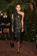 Minnie Driver At Charles Finch and Chanel Pre-Oscars Dinner, Arrivals, Polo Lounge, Los Angeles