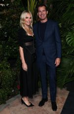 Molly Sims At Charles Finch and Chanel Pre-Oscars Dinner, Arrivals, Polo Lounge, Los Angeles
