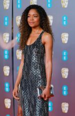 Naomie Harris At 2020 EE British Academy Film Awards at Royal Albert Hall, London