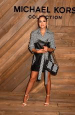Natti Natasha At Michael Kors show, Fall Winter 2020, New York Fashion Week