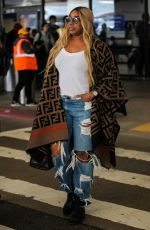 NeNe Leakes Spotted at LAX airport in Los Angeles