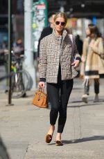 Nicky Hilton Goes for a stroll in the west village in New York