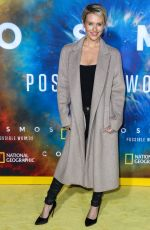 Nicky Whelan At Cosmos: Possible Worlds premiere in Los Angeles