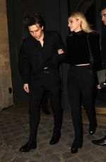 Nicola Peltz & Brooklyn Beckham Seen leaving the YSL party in Paris