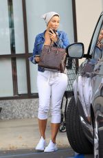 Nicole Murphy Out shopping in West Hollywood