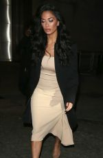 Nicole Scherzinger At night out in London