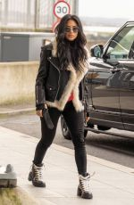 Nicole Scherzinger Spotted flying out of Heathrow Airport to Los Angeles