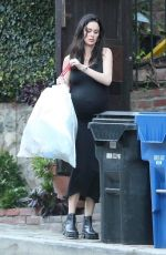Nicole Trunfio Can still make taking out the trash look glamorous