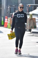 Nikki Bella Hits up a supermarket in Studio City