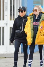 Noomi Rapace Spotted out in Notting Hill having a pizza with a mystery lady friend