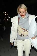 Olivia Attwood Leaving the Love Island Aftersun filming in London