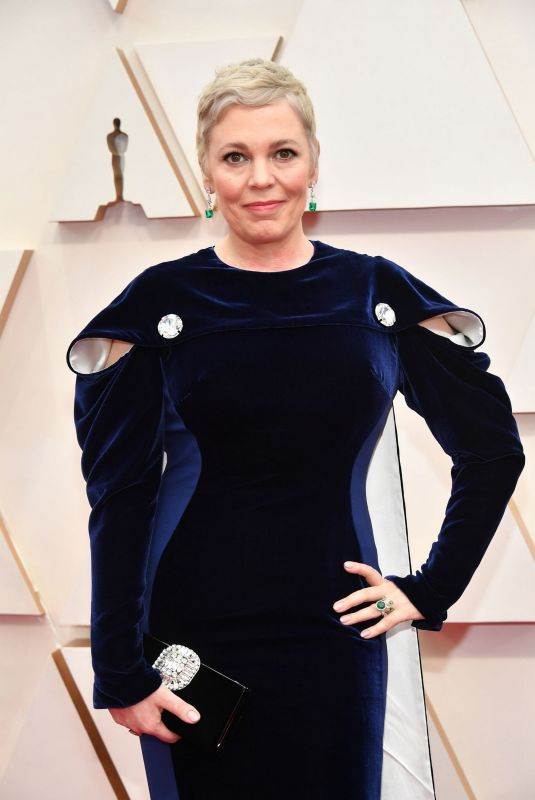 Olivia Colman At 92nd Annual Academy Awards at Hollywood and Highland in Hollywood