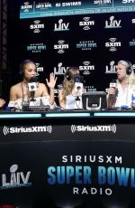 Olivia Culpo At SiriusXM At Super Bowl LIV - Day 3 in Miami
