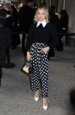 Olivia Holt Arrives at the Michael Kors show in New York