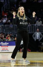 Olivia Wilde Attends Harlem Globetrotters game in Los Angeles