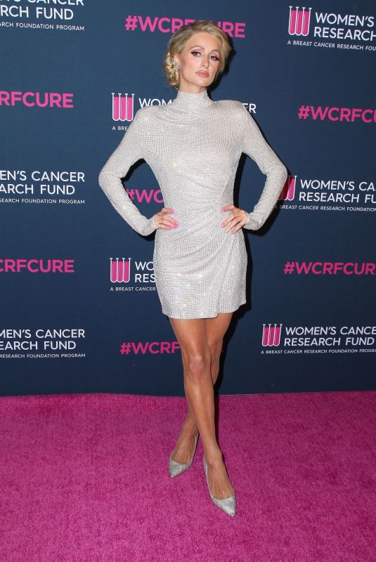 Paris Hilton At The Womens Cancer Research Fund hosts An Unforgettable Evening at The Beverly Wilshire in Beverly Hills