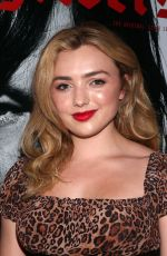 Peyton List At Easyriders 50th Anniversary celebration at The House of Machines in Los Angeles