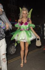 Pixie Lott Celebrates her 29th birthday at Gold in Notting Hill with her dressed adorned by butterflies in London