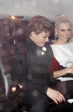 Pixie Lott Seen at British Vogue and Tiffany & Co. Celebrate Fashion And Film Party at Annabel