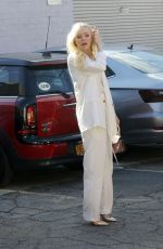 Portia Doubleday Arrives for a shoot in Los Angeles