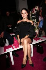 Rachel Bilson At Christian Siriano fashion show in NYC