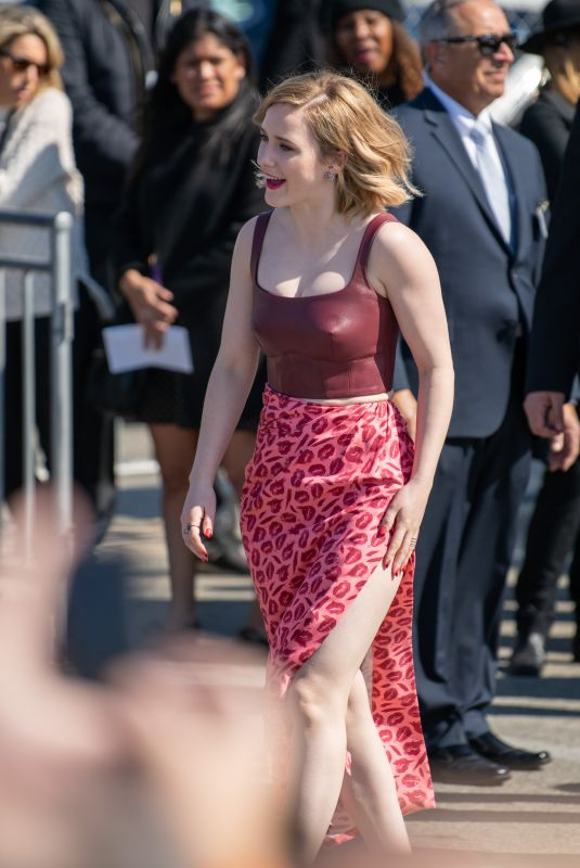 Rachel Brosnahan Arriving to the Film Independent Spirit Awards