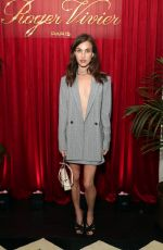 Rainey Qualley At Roger Vivier